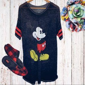 Women's Disney Mickey Mouse Sleep Shirt, XL, GUC